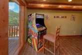 8 Bedroom Pool Cabin with an Arcade Game