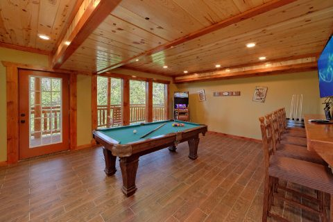 8 Bedroom Cabin with a Pool Table - Marco Polo