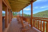 8 Bedroom Cabin with Rocking Chairs on the Decks