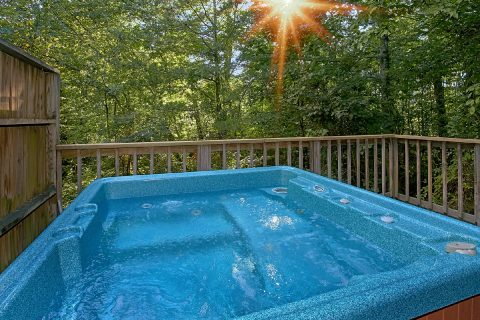 Rustic 1 Bedroom Cabin with Hot Tub and Views - Melody Hill