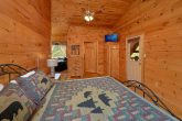 Private King Bedroom and bath in 3 bedroom cabin