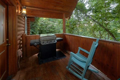 Semi Private 1 Bedroom Cabin with Grill - Merry Weather