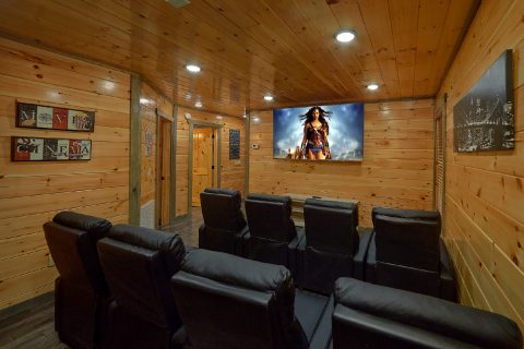 4 Bedroom Cabin woth Theater Room and Pool - Mirror Pond