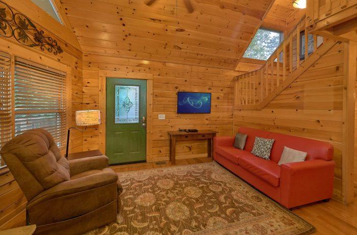 Gatlinburg 4 Bedroom Cabin Sleeps 8 - Mistletoe Lodge