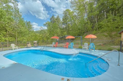 Mountain Resort Amenities Pool - Mistletoe Lodge
