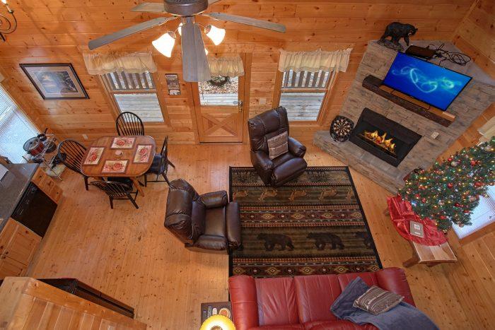 Luxury 2 Bedroom Cabin Sleeps 6 Near Dollywood - Moonglow