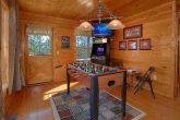 Game Room Foosball & Door to Deck