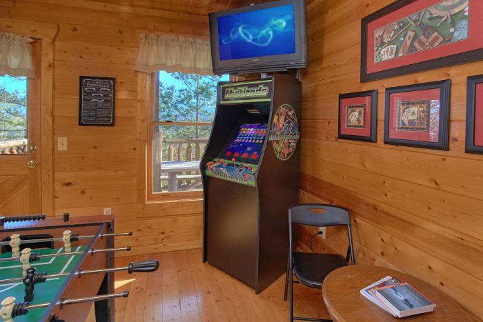 2 Bedroom CabinWith Arcade game Sleeps 6 - Moonglow