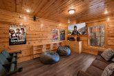 Theater Room 4 Bedroom Cabin Sleeps 10