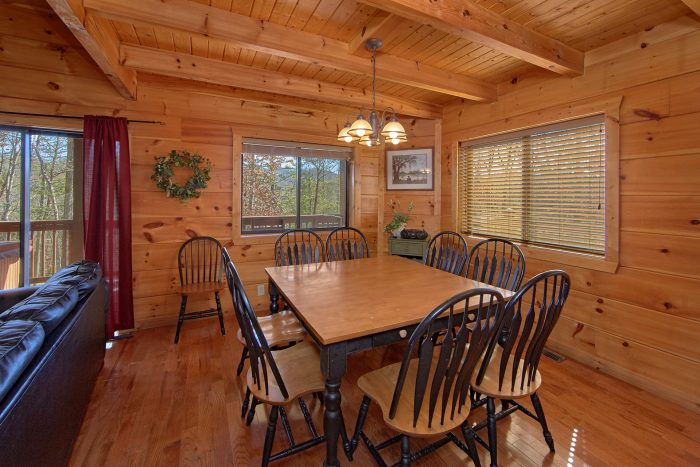 3 Bedroom Cabin Sleeps 9 with Dining Room - Morning Mist