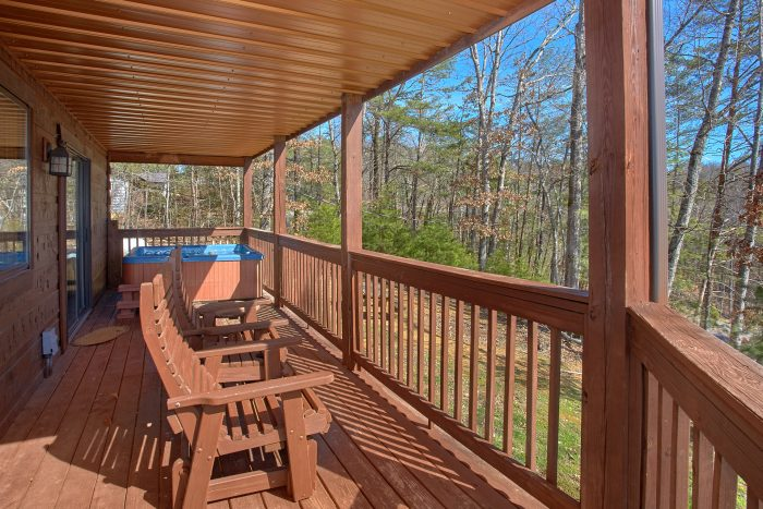 3 Bedroom Pigeon Forge Cabin Sleep 9 - Morning Mist