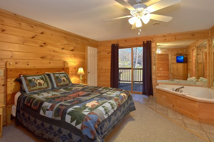 4 Bedroom Cabin in Pigeon Forge - Mountain Crest