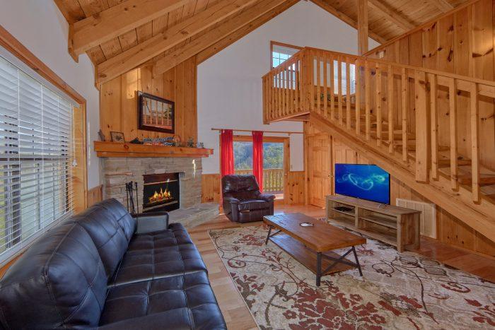 1 Bedroom 2 Bath Cabin Sleeps 6 - Mountain Hideaway