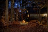 Rustic Cabin with Outdoor Fire Pit and Swings