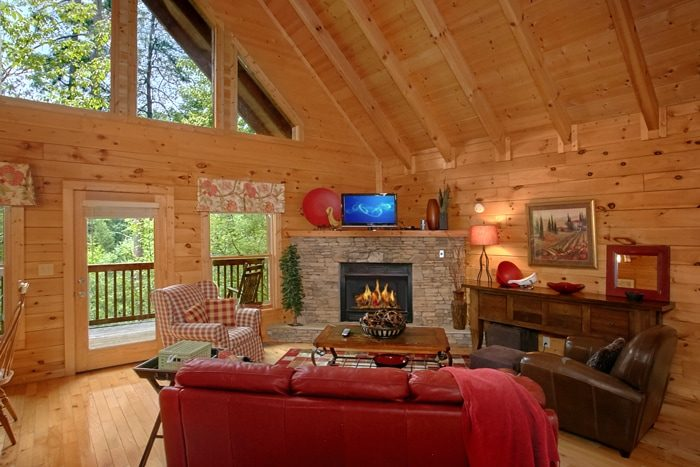 Spacious 1 Bedroom Cabin with Fireplace - Mountain Star