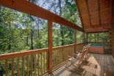Honeymoon Cabin with Private Deck and view