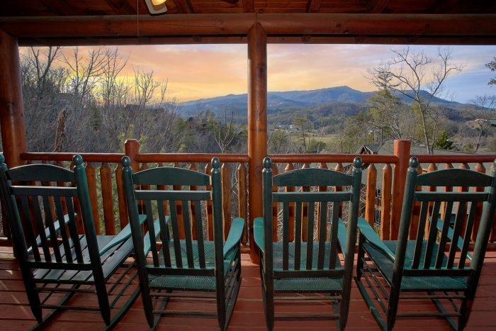 5 Bedroom With Views and Rocking Chairs - Mountain Sunrise