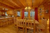 Large Dining Room in Rustic cabin