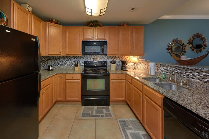 Condo Rental with Fully Equipped Kitchen - Mountain View 2607