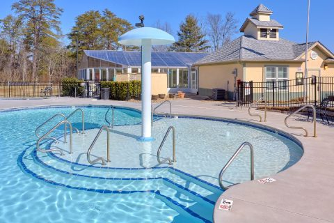 Condo with Resort Swimming Pool and Fountain - Mountain View 2704