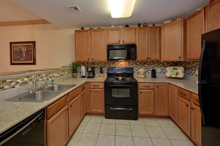 Spacious condo in PIgeon Forge with Full Kitchen - Mountain View 5305