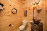 8 Bedroom Cabin with Moonshine Still Bathroom