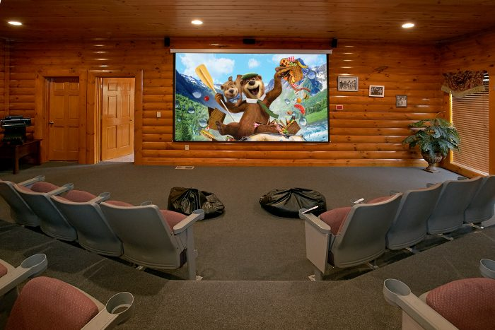 Grand Theater Lodge Cabin Rental Photo