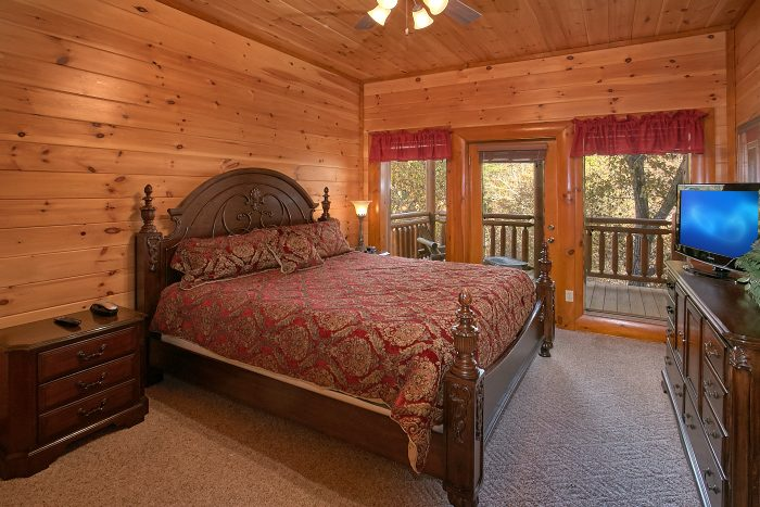 8 Bedroom Cabin with Master Suites - Grand Theater Lodge