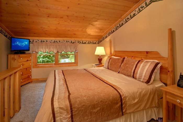 1 Bedroom Cabin with King Bed - Mtn Dreams