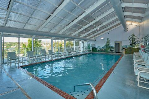 Resort Indoor and Outdoor Pool - My Pigeon Forge Retreat
