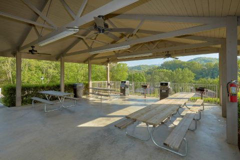 Resort Picnic Area - My Pigeon Forge Retreat
