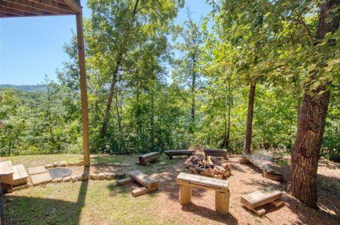 5 bedroom Cabin Wears Valley Fire Pit - Mystic Ridge