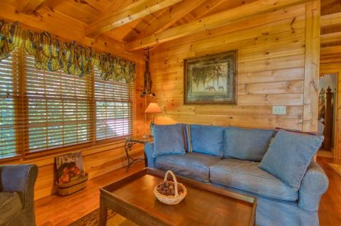 Beautiful 5 Bedroom Cabin Sleeps 20 - Mystic Ridge