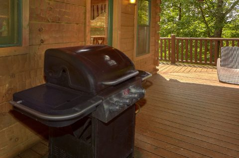 5 Bedroom Cabin with Gas Grill - Mystic Ridge