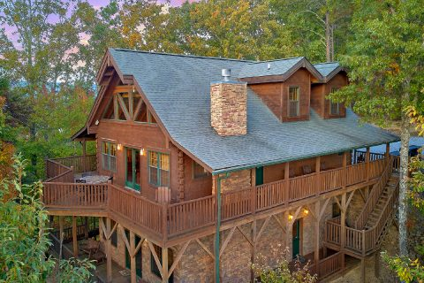 Smoky Mountain Cabin with Mountain View and WiFi - Mystic Ridge
