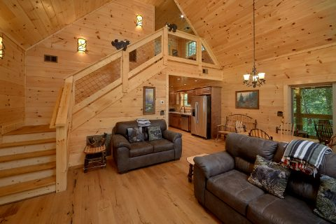 2 bedroom cabin with sleeper sofa - Mystical Mornings