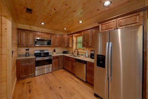 Luxury 2 bedroom cabin with Full Kitchen - Mystical Mornings