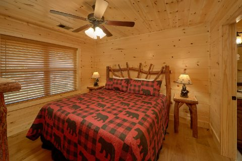 2 Bedroom cabin with King Bedroom on main level - Mystical Mornings