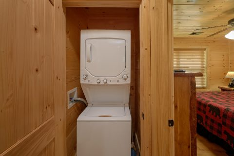 2 bedroom cabin with washer and dryer - Mystical Mornings