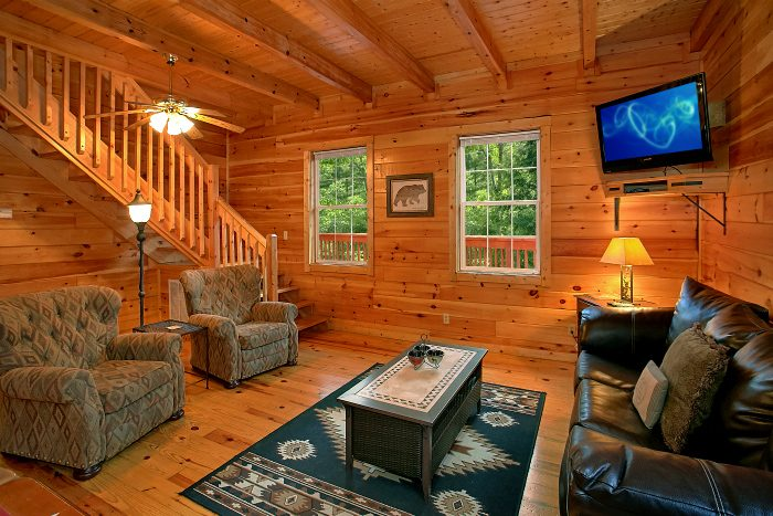 4 Bedroom Cabin with Large Family Game Room - Natures Dream