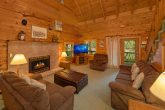 Rustic 3 Bedroom Cabin with Fireplace