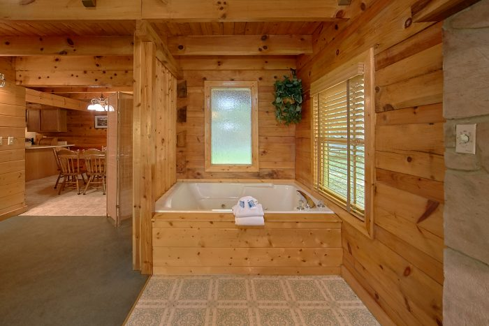 Rustic Gatlinburg Cabin with Jacuzzi Tub - Oakland #1