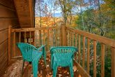 Gatlinburg Cabin with wooded VIews from deck