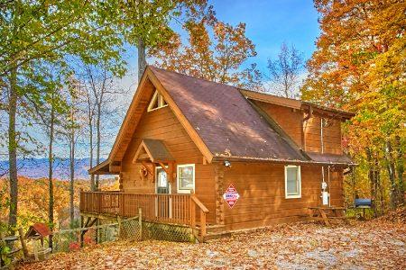 Tucked Away: 2 Bedroom Sevierville Cabin Rental