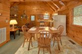 Dining Room for 6 in 2 bedroom Gatlinburg cabin