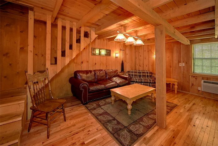 Spacious Cabin with Large Family Room - On the Creek