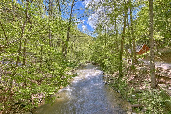 Wears Valley cabin with Creek View - On the Creek