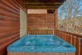 Private Hot Tub 4 Bedroom Cabin Sleeps 14