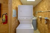 2 Bedroom 2 Bath Cabin Washer and Dryer