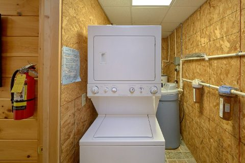 2 Bedroom 2 Bath Cabin Washer and Dryer - One More Night